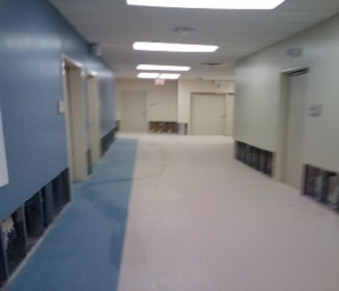 St. Vincent's Hospital Water Damage After