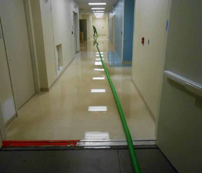 St. Vincent's Hospital Water Damage Before
